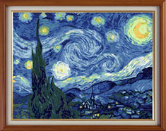 X-118, Starry night, V. van Gogh