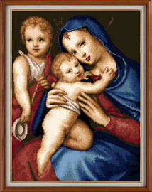 X-127, Madonna and Child
