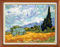 X-137, Wheat Field with Cypresses, V. van Gogh