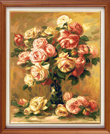 X-909, Roses - by A.Renoir